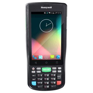 """Honeywell ScanPal EDA50K ordinateur portable de poche 10,2 cm (4"""") 480 x 800 pixels Écran tactile 300 g Noir"""