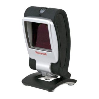 Honeywell Genesis 7580g Lecteur de code barre fixe 1D/2D Noir, Argent