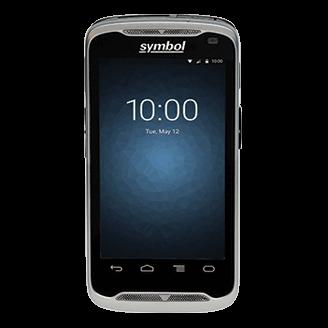 """Zebra TC55 ordinateur portable de poche 10,9 cm (4.3"""") 800 x 480 pixels Écran tactile 220 g Noir, Argent"""