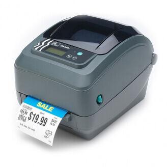 Zebra GX420t imprimante pour étiquettes Thermique direct/Transfert thermique 203 x 203 DPI