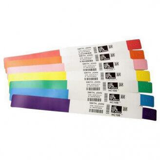 Zebra 10012713-1K étiquette à imprimer Rouge Imprimante d'étiquette adhésive