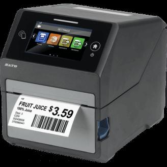 SATO CT4-LX Thermique direct/Transfert thermique Imprimantes POS 203 x 203 DPI Avec fil &sans fil