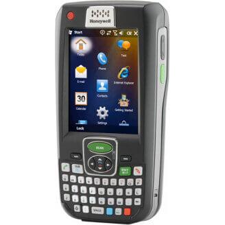 """Honeywell Dolphin 9700hc ordinateur portable de poche 9,4 cm (3.7"""") 640 x 480 pixels Écran tactile 486 g Gris"""