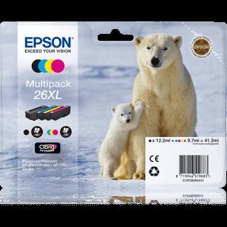 """Epson Polar bear Cartouche """"Ours Polaire"""" - Encre Claria Premium MP (XL)"""