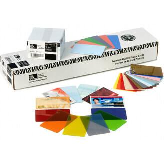 Zebra Premier PVC 10 mil (500) carte de visite 500 pièce(s)