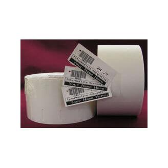 Boîte de 12 rouleaux cartonnettes 190 micron direct thermique 57mmx35mm Z-Select 2000D White Zebra 800999-009