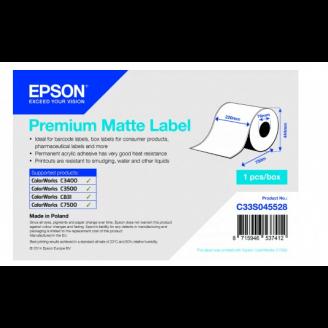 Epson C33S045528 étiquette à imprimer Blanc