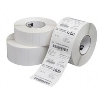 Boîte de 12 bobines de cartonnettes direct thermique 102mmx76mm Z-Select 2000D Zebra 800999-020