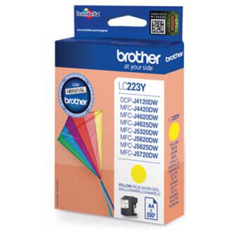 Brother LC-223YBP cartouche d'encre Original Jaune 1 pièce(s)