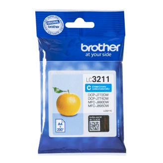 Brother LC-3211C cartouche d'encre Original Cyan