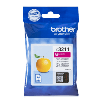 Brother LC-3211M cartouche d'encre Original Magenta