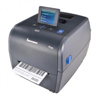 Imprimante étiquettes adhésives Honeywell PC43t transfert thermique-203dpi-USB