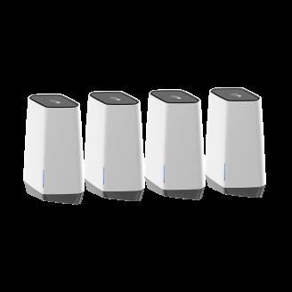 Netgear Orbi Pro routeur sans fil Tri-bande (2,4 GHz / 5 GHz / 5 GHz) Gigabit Ethernet Blanc
