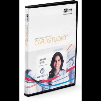 Zebra CardStudio, Standard, Network, 5U 5 licence(s) Chinois simplifié, Chinois traditionnel, Tchèque, Danois, Allemand, Anglais