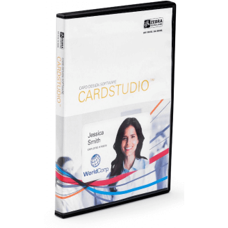 Zebra CardStudio, Standard, Network, 10U 10 licence(s) Chinois simplifié, Chinois traditionnel, Tchèque, Danois, Allemand, Angla