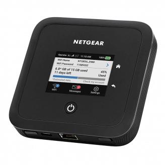 Netgear MR5200 routeur sans fil Bi-bande (2,4 GHz / 5 GHz) Gigabit Ethernet 3G 4G Noir