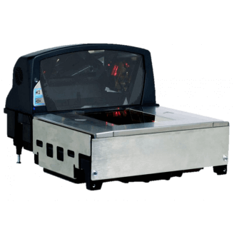 Honeywell Stratos 2421-105D Lecteur de code barres intégré 1D Laser Noir, Acier inoxydable