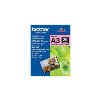 Brother BP60MA3 Inkjet Paper papier jet d'encre A3 (297x420 mm) Mat Blanc