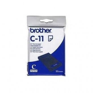 Brother C11 Thermal Paper papier jet d'encre Blanc