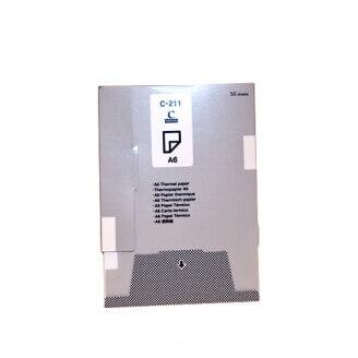 Brother C211S papier thermique A6