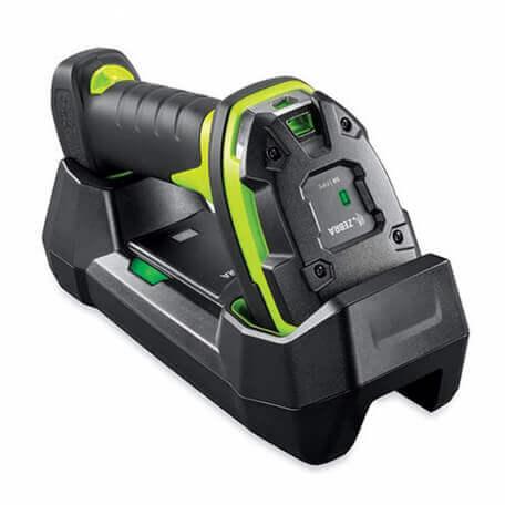 Zebra LI3678-ER Lecteur de code barre portable 1D Noir, Vert