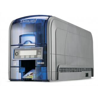 DataCard SD360 imprimante de cartes en plastique Sublimation de teinte Couleur 300 x 300 DPI