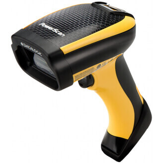 Datalogic PowerScan PD9500 Lecteur de code barre portable 1D/2D Diode photo Noir, Jaune