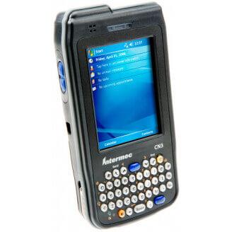 "Intermec CN3A ordinateur portable de poche 8,89 cm (3.5"") 240 x 320 pixels Écran tactile 397 g Noir"