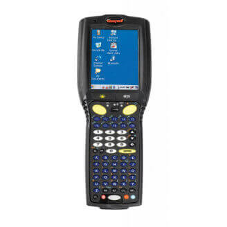 "Honeywell MX9A ordinateur portable de poche 9,4 cm (3.7"") 240 x 320 pixels Écran tactile Noir"