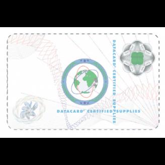 DataCard DuraGard 1 mil Optigram V2 - UV Protect Smart Card film issu d'un procédé de lamination