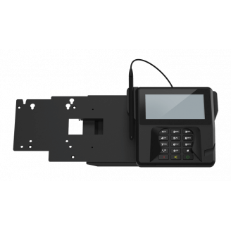 Elo Touch Solution EMV Terminal Noir Support passif