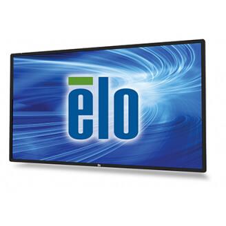 """Elo Touch Solution 5501LT 138,7 cm (54.6"""") LED Full HD Écran tactile Panneau plat de signalisation numérique Noir"""