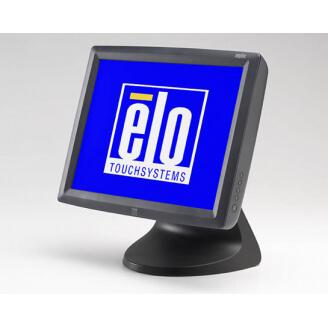 """Elo Touch Solution 1528L moniteur à écran tactile 38,1 cm (15"""") 1024 x 768 pixels Gris Dessus de table"""