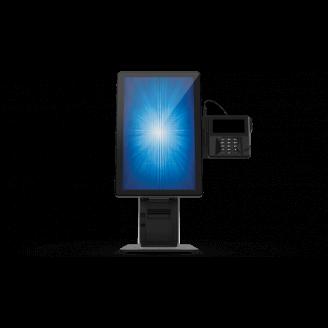 """Elo Touch Solution E796783 socle d'écrans plats 55,9 cm (22"""") Pupitre à roulettes pour panneau plat Noir, Argent"""