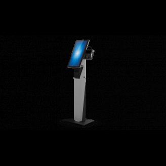 """Elo Touch Solution E797162 socle d'écrans plats 55,9 cm (22"""") Pupitre à roulettes pour panneau plat Noir, Argent"""