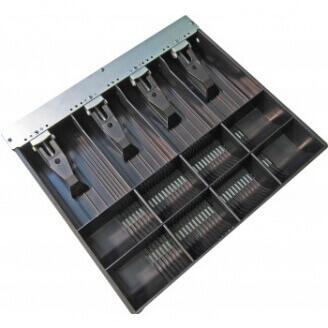 APG Cash Drawer VPK-15B-5-BX tiroirs caisse Noir