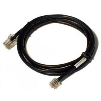 APG Cash Drawer CD-101A câble d'imprimante 1,5 m Noir