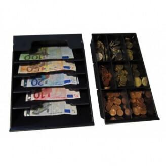 APG Cash Drawer VPK-15B-26-BX tiroirs caisse Noir