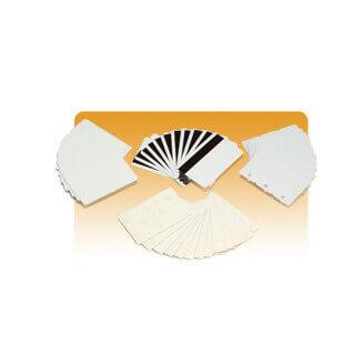 Zebra PVC, 30mil, Recycled PVC Cards carte de visite 500 pièce(s)