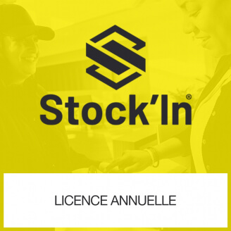 Licence annuelle Stock In DROID Inventaire