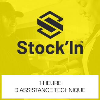 1 Heure d'assistance technique Stock In DROID Inventaire