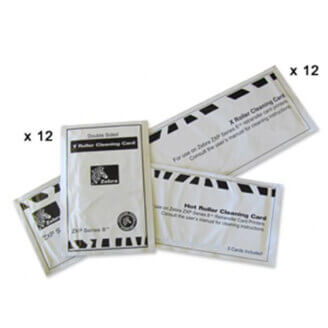 Zebra ZXP Series 8 Cleaning Card Kit