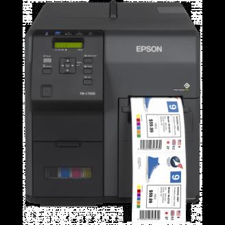 Epson ColorWorks C7500 imprimante pour étiquettes Jet d'encre 600 x 1200 DPI Avec fil