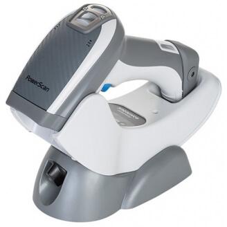 Datalogic PowerScan 9501 Retail Lecteur de code barre portable 1D/2D Laser Gris, Blanc