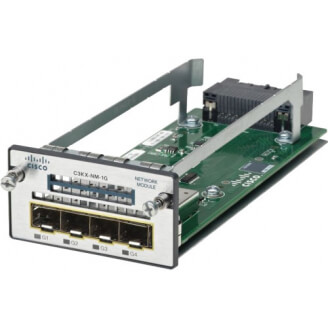 Cisco C3KX-NM-1G-RF carte réseau Ethernet 1000 Mbit/s Interne
