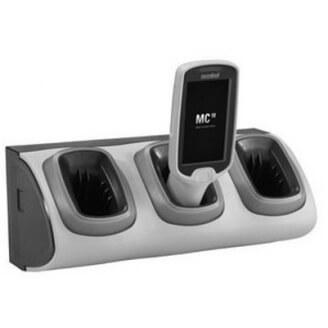 Zebra CRD-MC18-3SLCKH-01 chargeur de téléphones portables Intérieur Noir, Gris