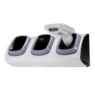 Zebra CRD-MC18-3SLCKS-01 chargeur de téléphones portables Intérieur Gris