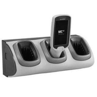 Zebra CRD-MC18-3SLOTH-01 chargeur de téléphones portables Intérieur Gris