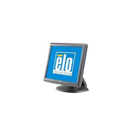 """Elo Touch Solution 1715L moniteur à écran tactile 43,2 cm (17"""") 1280 x 1024 pixels Gris une seule pression Multi-utilisateur"""