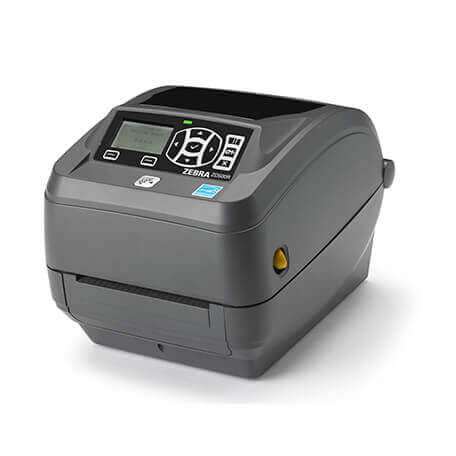 Zebra ZD500R imprimante pour étiquettes Thermique direct/Transfert thermique 203 x 203 DPI Avec fil &sans fil